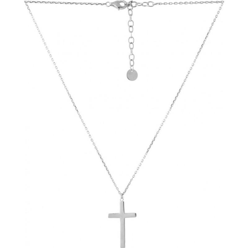 Серебряное колье SilverBreeze без камней (2052807) 450500 размер
