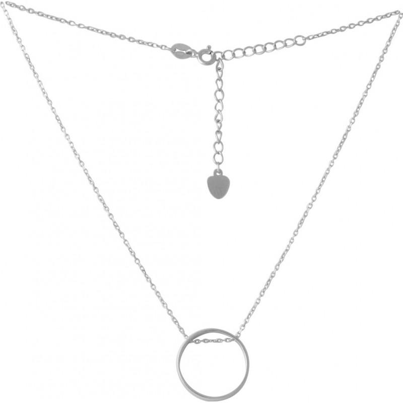 Серебряное колье SilverBreeze без камней (2052753) 450500 размер