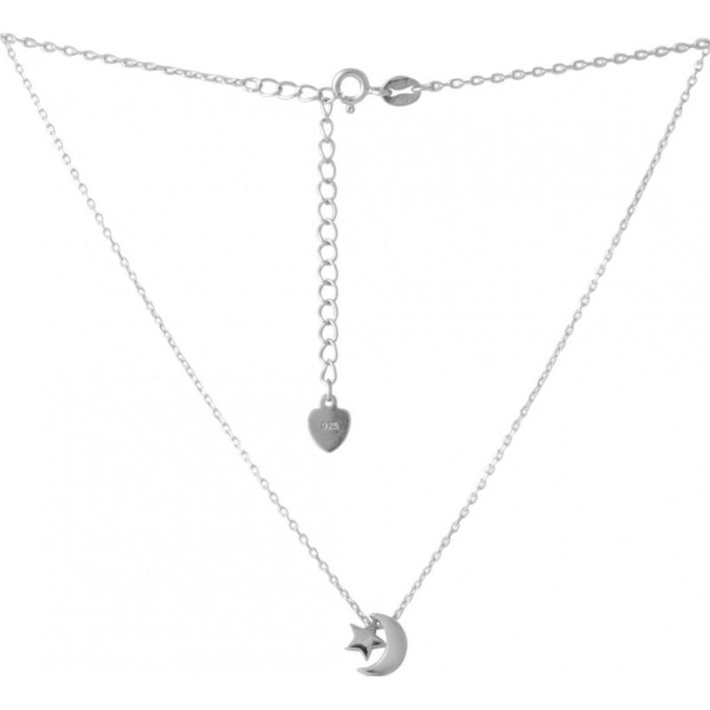 Серебряное колье SilverBreeze без камней (2052678) 450500 размер