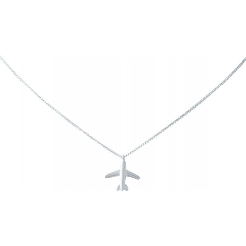 Серебряное колье SilverBreeze без камней (2022961) 400430 размер
