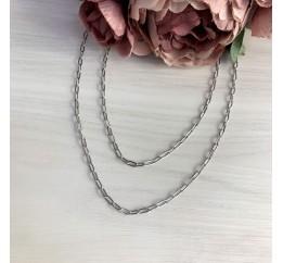 Серебряное колье SilverBreeze без камней (2005629) 440480 размер