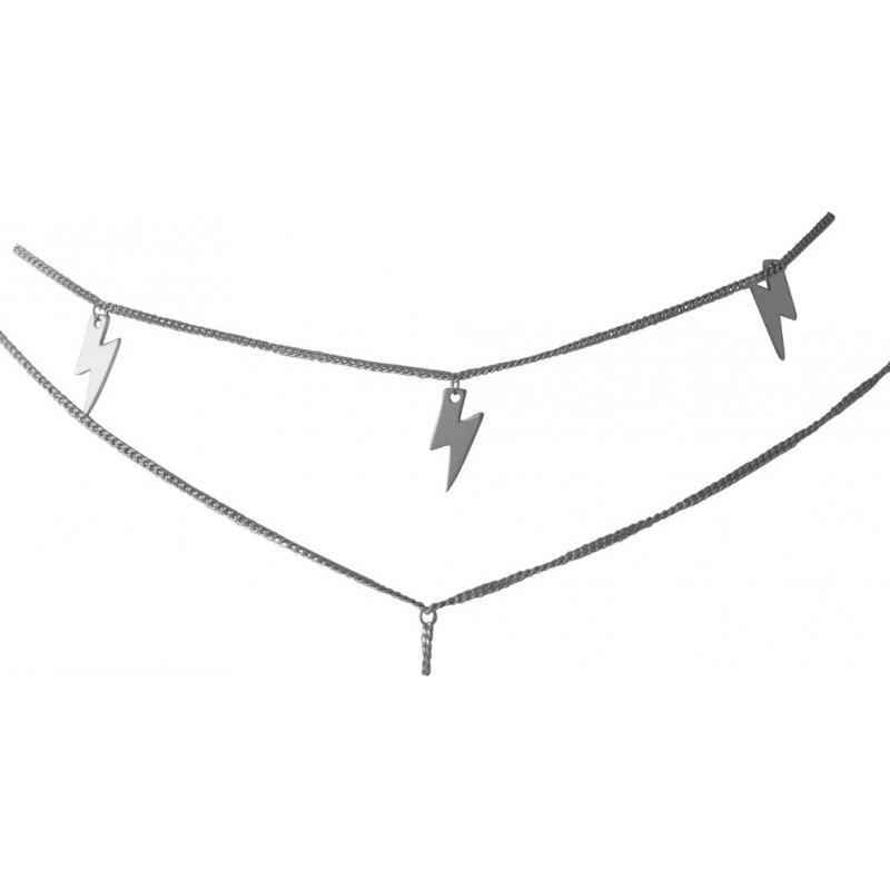 Серебряное колье SilverBreeze без камней (1993774) 450500 размер