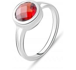 Серебряное кольцо SilverBreeze с натуральным гранатом 2.325ct (2075318) 17 размер