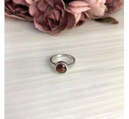 Серебряное кольцо SilverBreeze с натуральным гранатом 2.325ct (2075318) 17.5 размер