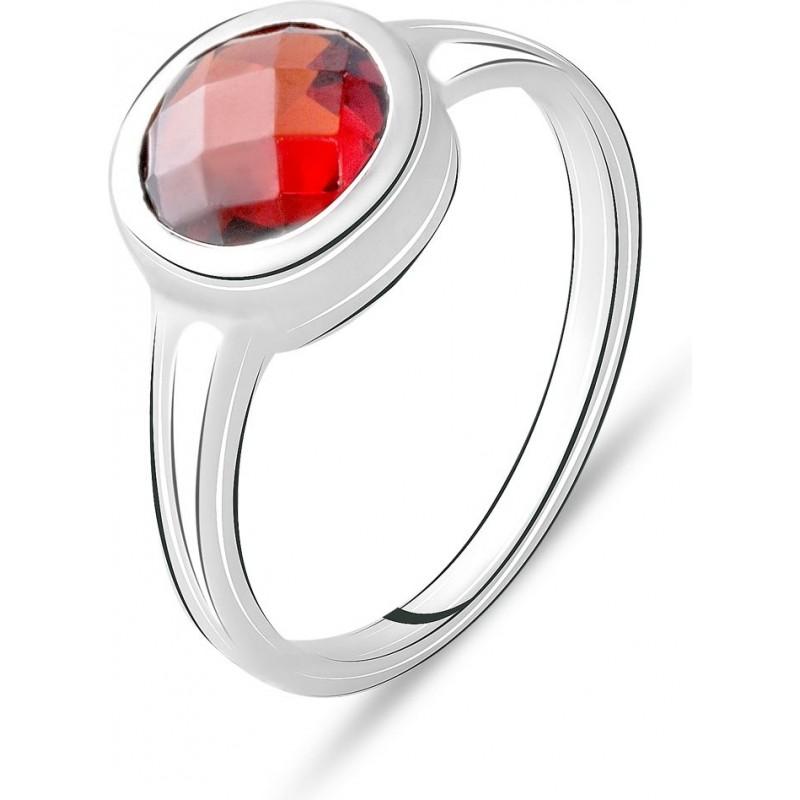 Серебряное кольцо SilverBreeze с натуральным гранатом 2.325ct (2075318) 18.5 размер