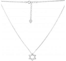 Серебряное колье SilverBreeze без камней (2073659) 500 размер