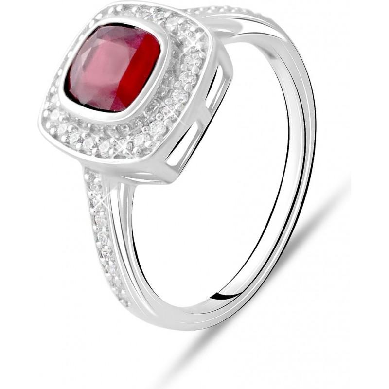 Серебряное кольцо SilverBreeze с натуральным рубином 1.757ct (2073536) 18.5 размер