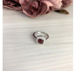Серебряное кольцо SilverBreeze с натуральным рубином 1.757ct (2073536) 18 размер
