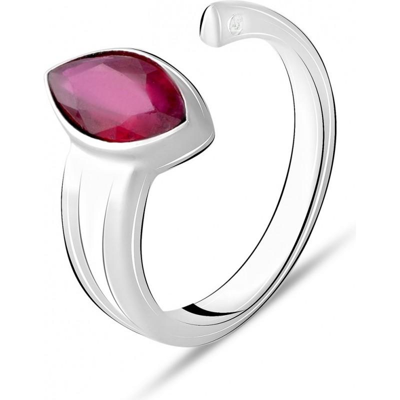 Серебряное кольцо SilverBreeze с натуральным рубином 2.51ct (2072812) 17.5 размер