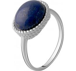 Серебряное кольцо SilverBreeze с натуральным лазуритом 4.163ct (2072225) 18 размер
