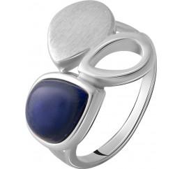 Серебряное кольцо SilverBreeze с натуральным лазуритом 1.833ct (2070252) 17.5 размер