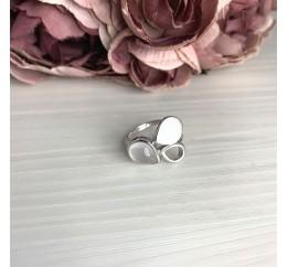 Серебряное кольцо SilverBreeze с натуральным розовым кварцем 1.833ct (2070221) 17 размер