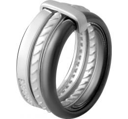 Серебряное кольцо SilverBreeze с керамикой (2070023) 17.5 размер