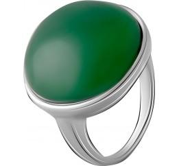 Серебряное кольцо SilverBreeze с натуральным агатом 18.517ct (2069539) 17.5 размер