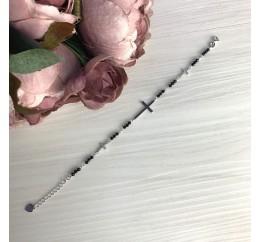 Серебряный браслет SilverBreeze с натуральным шпинелью (2068174) 1720 размер