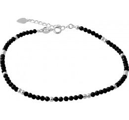 Серебряный браслет SilverBreeze с натуральным шпинелью (2068167) 2326 размер