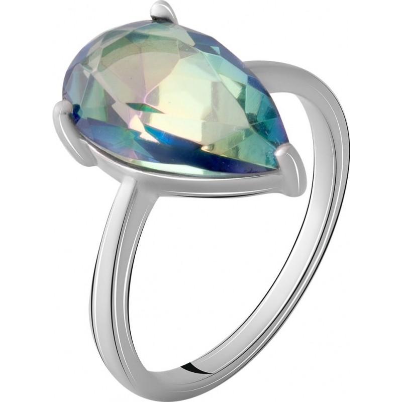 Серебряное кольцо SilverBreeze с натуральным мистик топазом 3.563ct (2068044) 17.5 размер