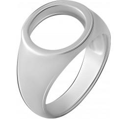 Серебряное кольцо SilverBreeze без камней (2067863) 18 размер
