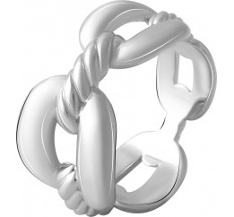 Серебряное кольцо SilverBreeze без камней (2067849) 18 размер