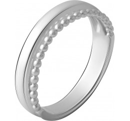 Серебряное кольцо SilverBreeze без камней (2067825) 16.5 размер