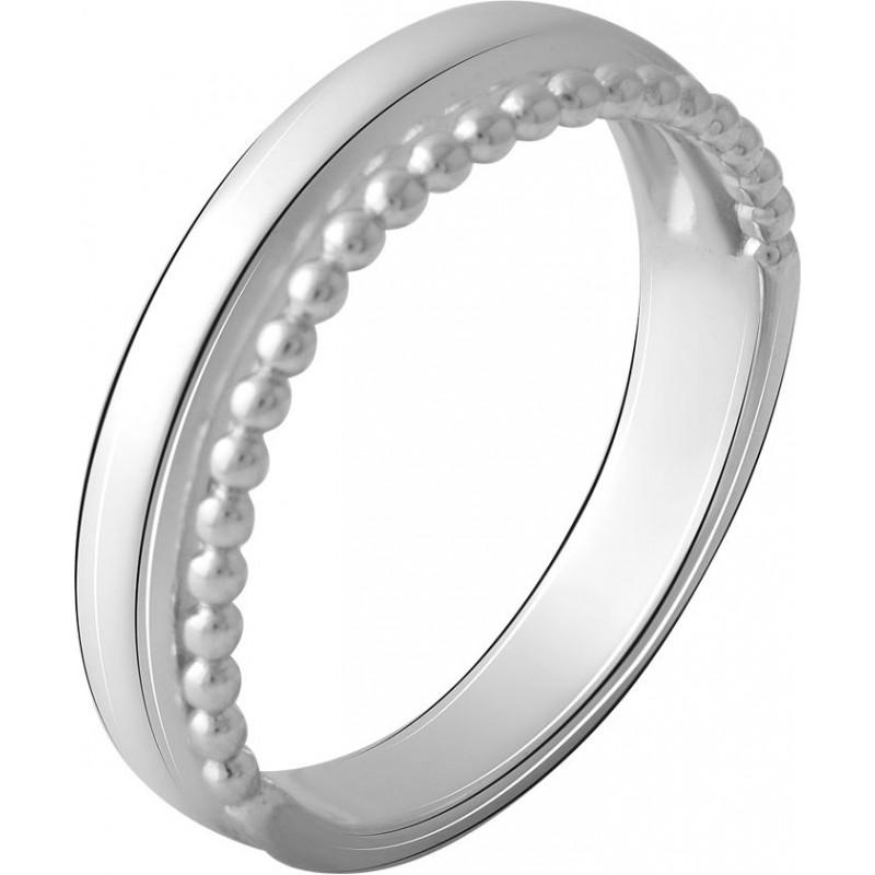 Серебряное кольцо SilverBreeze без камней (2067825) 18 размер