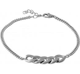 Серебряный браслет SilverBreeze без камней (2067771) 1720 размер