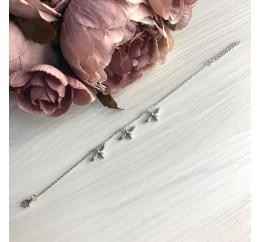 Серебряный браслет SilverBreeze без камней (2067641) 1720 размер
