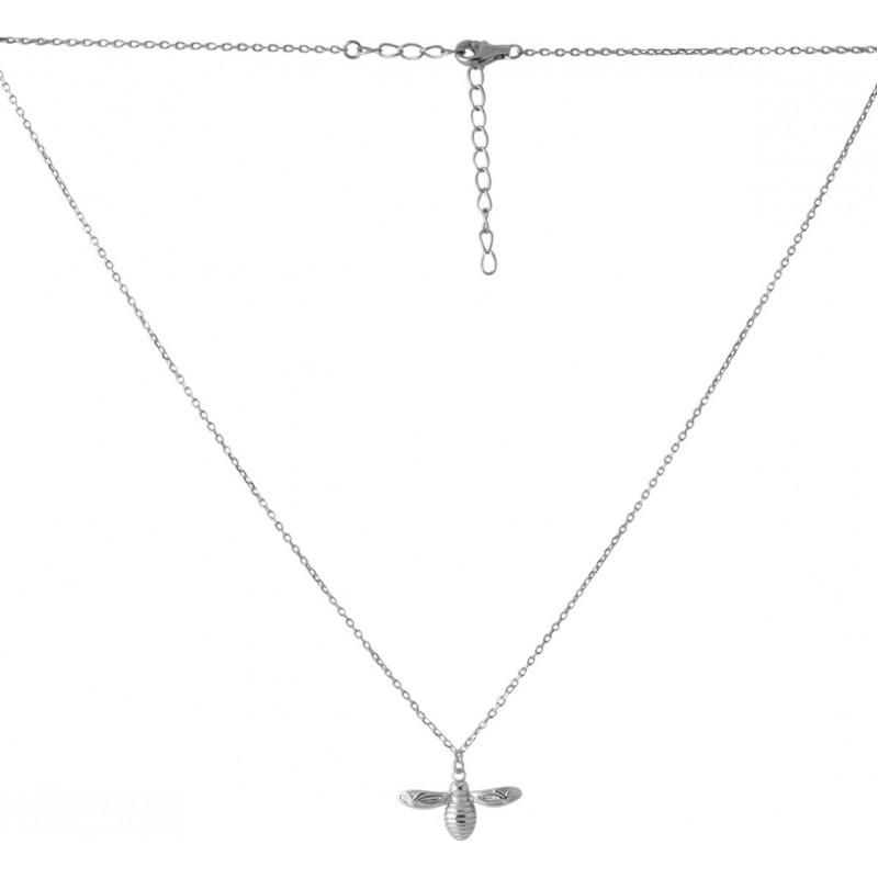 Серебряное колье SilverBreeze без камней (2067610) 500 размер
