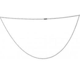 Серебряное колье SilverBreeze без камней (2066811) 350 размер