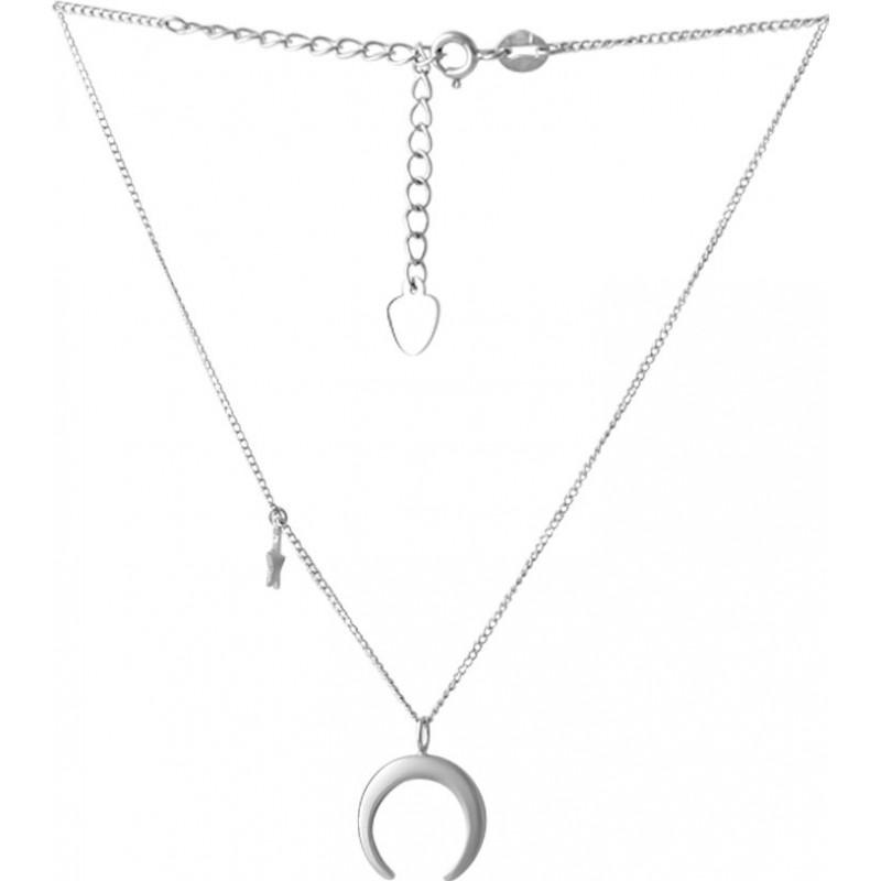 Серебряное колье SilverBreeze без камней (2066729) 500 размер
