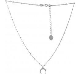 Серебряное колье SilverBreeze без камней (2066668) 500 размер