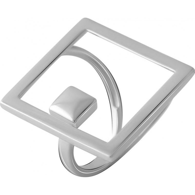 Серебряное кольцо SilverBreeze без камней (2066439) 18 размер