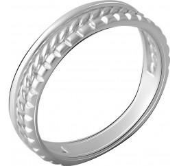 Серебряное кольцо SilverBreeze без камней (2066422) 16 размер