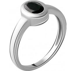 Серебряное кольцо SilverBreeze с натуральным сапфиром (2064770) 17 размер