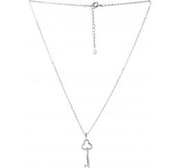 Серебряное колье SilverBreeze без камней (2064015) 500 размер