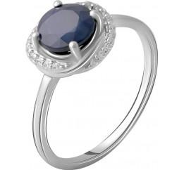 Серебряное кольцо SilverBreeze с натуральным сапфиром 1.878ct (2063087) 17 размер