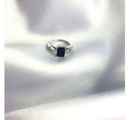 Серебряное кольцо SilverBreeze с натуральным сапфиром 1.964ct (2063049) 16.5 размер