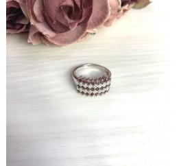 Серебряное кольцо SilverBreeze с натуральным гранатом 1.306ct (2061397) 19 размер