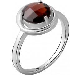 Серебряное кольцо SilverBreeze с натуральным гранатом 2.025ct (2061359) 18.5 размер