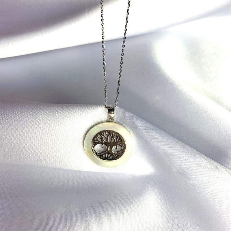 Серебряная подвеска SilverBreeze с емаллю (2061298)