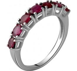 Серебряное кольцо SilverBreeze с натуральным рубином 1.6ct (2060017) 18 размер