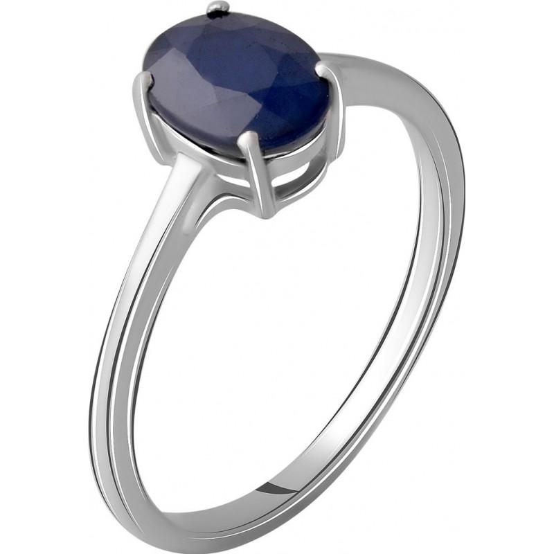 Серебряное кольцо SilverBreeze с натуральным сапфиром 1.488ct (2059394) 17.5 размер