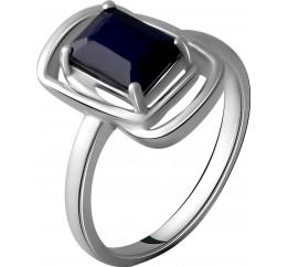 Серебряное кольцо SilverBreeze с натуральным сапфиром 2.025ct (2057604) 18.5 размер