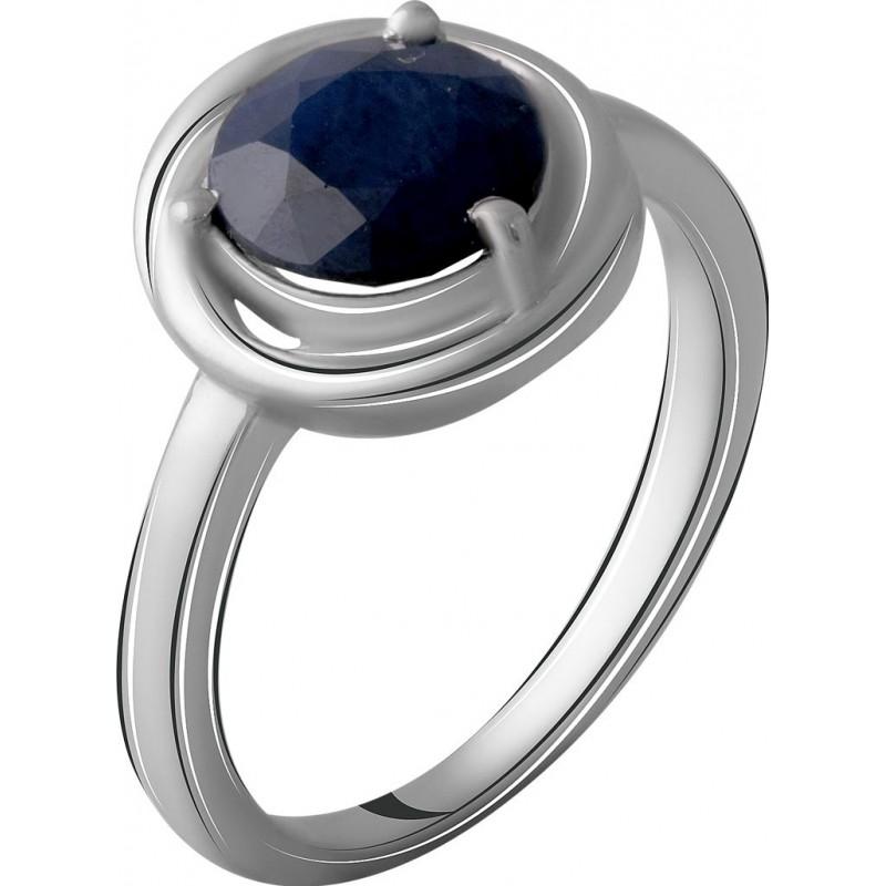 Серебряное кольцо SilverBreeze с натуральным сапфиром 2.267ct (2057529) 18.5 размер