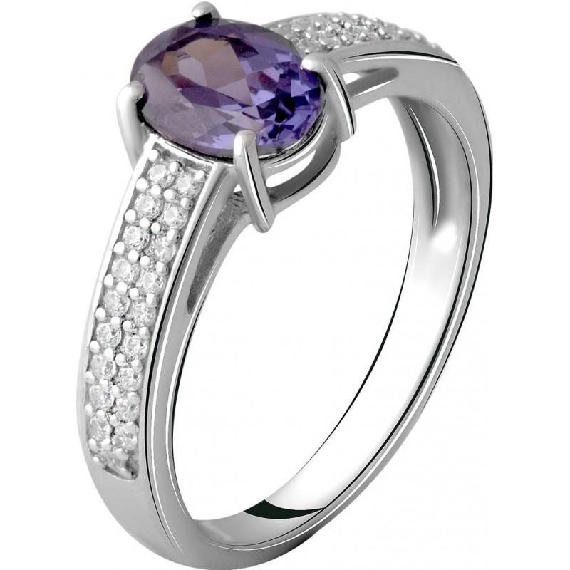 Серебряное кольцо SilverBreeze с олександритом 1.868ct (2057437) 18.5 размер