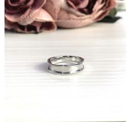 Серебряное кольцо SilverBreeze без камней (2056751) 18 размер