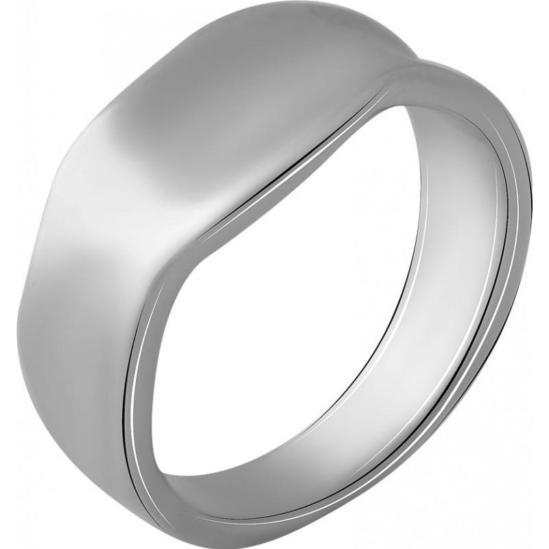 Серебряное кольцо SilverBreeze без камней (2056744) 18 размер