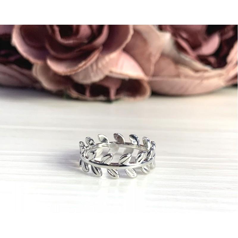 Серебряное кольцо SilverBreeze без камней (2056737) 18 размер