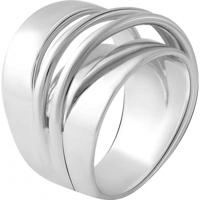 Серебряное кольцо SilverBreeze без камней (2056669) 17.5 размер