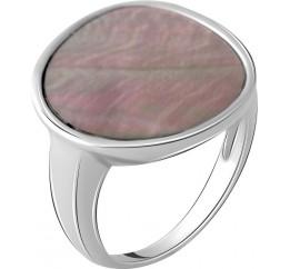 Серебряное кольцо SilverBreeze с натуральным перламутром (2056027) 18.5 размер